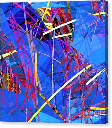 Abstract Curvy 26 Canvas Print