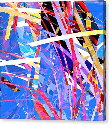 Abstract Curvy 27 Canvas Print
