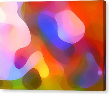 Abstract Dappled Sunlight Canvas Print by Amy Vangsgard