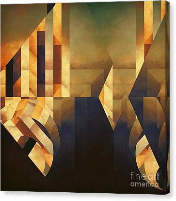 Abstract Dimension Canvas Print