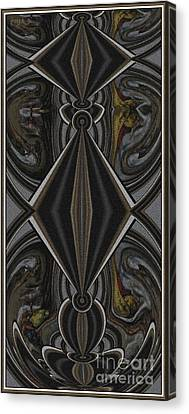 Abstract Door  Ad000001 Canvas Print by Pemaro
