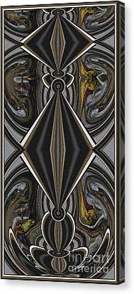 Abstract Door  Ad00001 Canvas Print by Pemaro