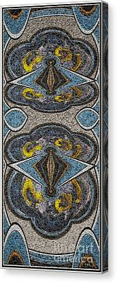 Abstract Door  Adoor000001 Canvas Print by Pemaro