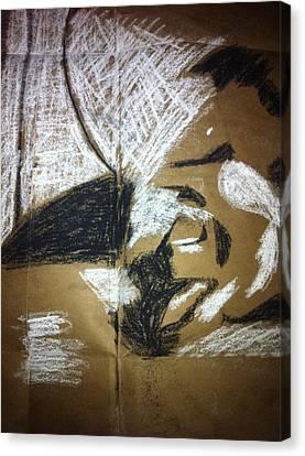Abstract Drawing Canvas Print by Khoa Luu