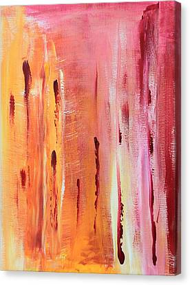 Canvas Print - Abstract Drops  by AR Annahita