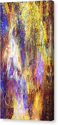 Abstract E - From Series 1 Canvas Print by J Larry Walker