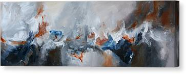 Abstract Expressionist Painting Prints Canvas Print by Andrada Anghel
