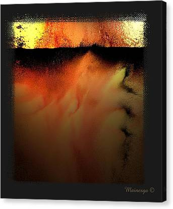 Abstract-f-r-b Canvas Print by Ines Garay-Colomba