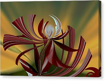 Abstract - Flower Canvas Print
