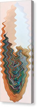 Abstract  Four Of Twenty One Canvas Print