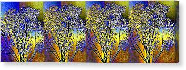 Abstract Fusion 100 Canvas Print by Will Borden