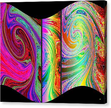 Abstract Fusion 184 Canvas Print