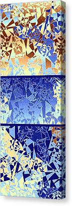 Abstract Fusion 194 Canvas Print by Will Borden