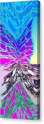Abstract Fusion 196 Canvas Print by Will Borden