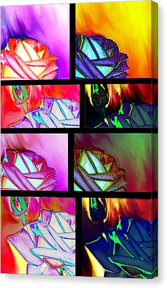 Abstract Fusion 214 Canvas Print