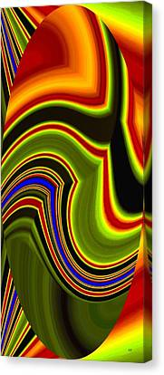 Abstract Fusion 234 Canvas Print
