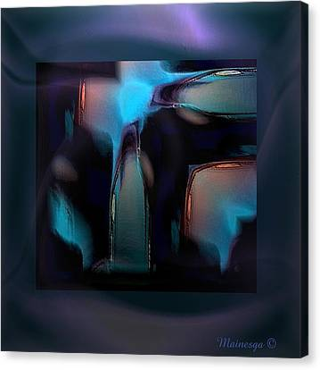 Abstract-g-19 Canvas Print by Ines Garay-Colomba