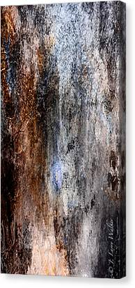 Abstract G - From Series 1 Canvas Print by J Larry Walker