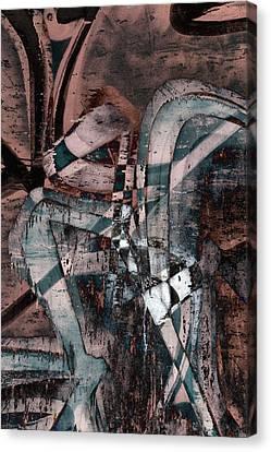 Abstract Graffiti 1 Canvas Print