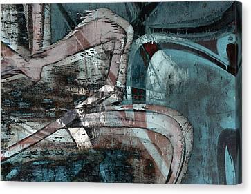 Abstract Graffiti 9 Canvas Print