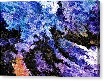 Abstract Granite Canvas Print by Ludwig Keck