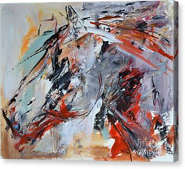 Abstract Horse 1 Canvas Print
