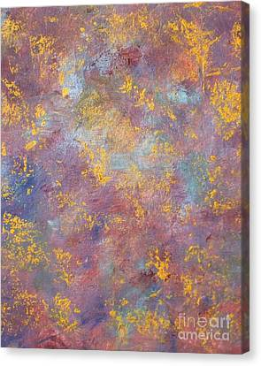Abstract Impressions Canvas Print by Donna Dixon