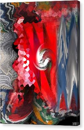 Abstract Canvas Print by Kelly McManus
