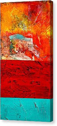 Abstract Landscape I Canvas Print by Carolyn Repka