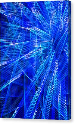 Abstract Lights Number 2 Canvas Print by Garry Gay