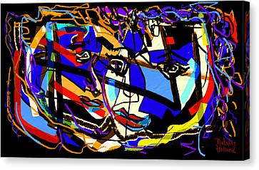 Abstract Love Canvas Print