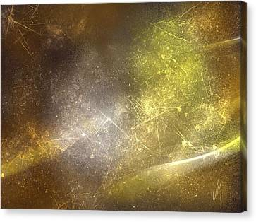 Abstract Magical Forest Canvas Print by Veronica Minozzi
