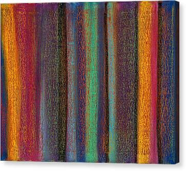 Abstract No 19 Bosa Nova Mane Canvas Print by Brian Broadway