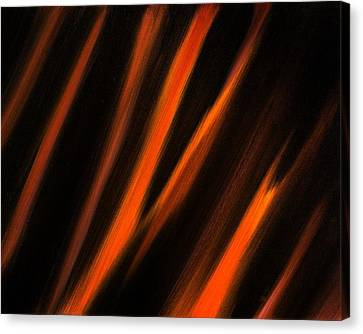 Abstract No 2 Tigris Surrexerunt Canvas Print by Brian Broadway
