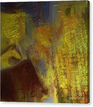 Abstract No. 228 Canvas Print by Shesh Tantry