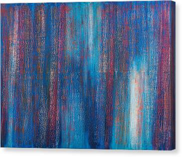 Abstract No 7 Beati Qui Vident Canvas Print by Brian Broadway
