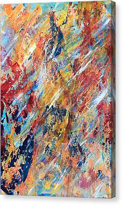 Abstract Painting Canvas Print by AR Annahita