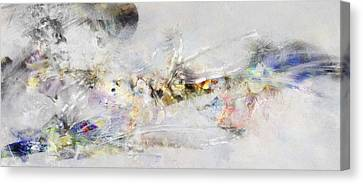 Abstract Painting - New Ideas  Canvas Print
