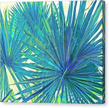 Abstract Palm 2 Canvas Print by Jane Schnetlage