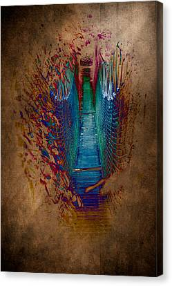 Abstract Path Canvas Print by Loriental Photography