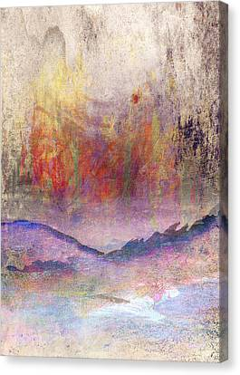 Sun Rays Canvas Print - Abstract Print 24 by Filippo B