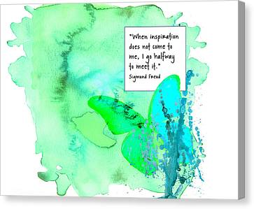 Abstract Quote 1 Canvas Print