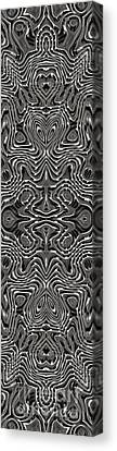 Abstract Rhythm - 24 Canvas Print by Hanza Turgul