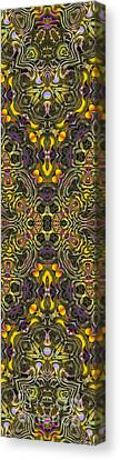 Abstract Rhythm - 29 Canvas Print by Hanza Turgul