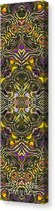 Abstract Rhythm - 34 Canvas Print by Hanza Turgul