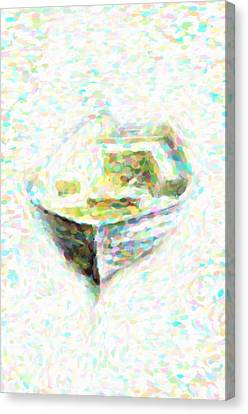 Abstract Rowboat Canvas Print