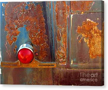 Abstract Rust Canvas Print by Marilyn Smith