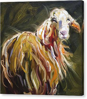 Abstract Sheep Canvas Print