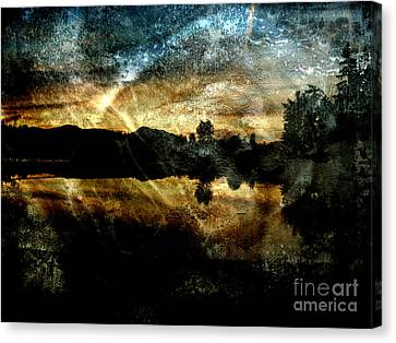 Abstract Sky 3 Canvas Print by Jim Wright