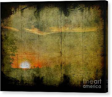 Abstract Sky 7 Canvas Print by Jim Wright